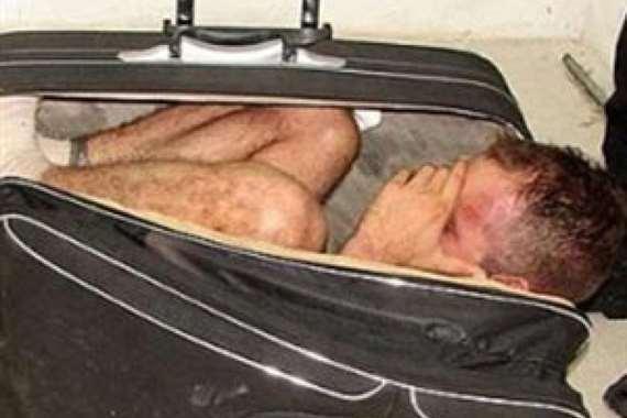 10 ساعات داخل حقيبة رحلة الموت لمهاجر غير شرعي
