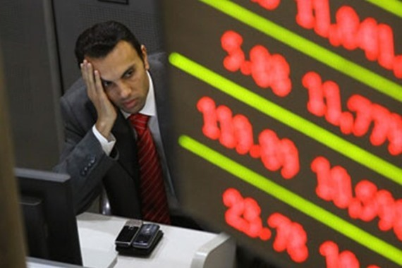 رفع الفائدة يخسر البورصة 11.5 مليار جنيه