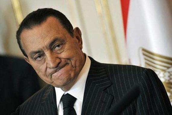 """الرئيس المتنحى """"مبارك"""""""