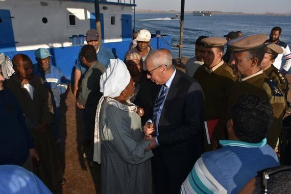 تشريد 15 ألف صياد ببحيرة ناصر بسبب وقف الصيد