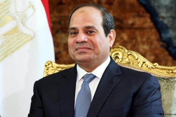 """""""السيسي"""": الإرهاب يتواجد في 1% فقط من مساحة سيناء"""