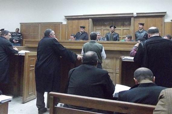 إحالة أوراق 4 متهمين للمفتي لانضمامهم لجماعة محظورة