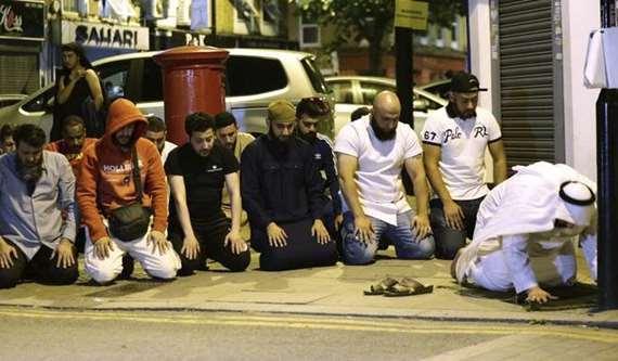 شاهد.. صور جديدة لحادث الدهس في لندن