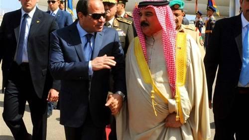 السيسى يوافق على تملك ملك البحرين أراضى بسيناء