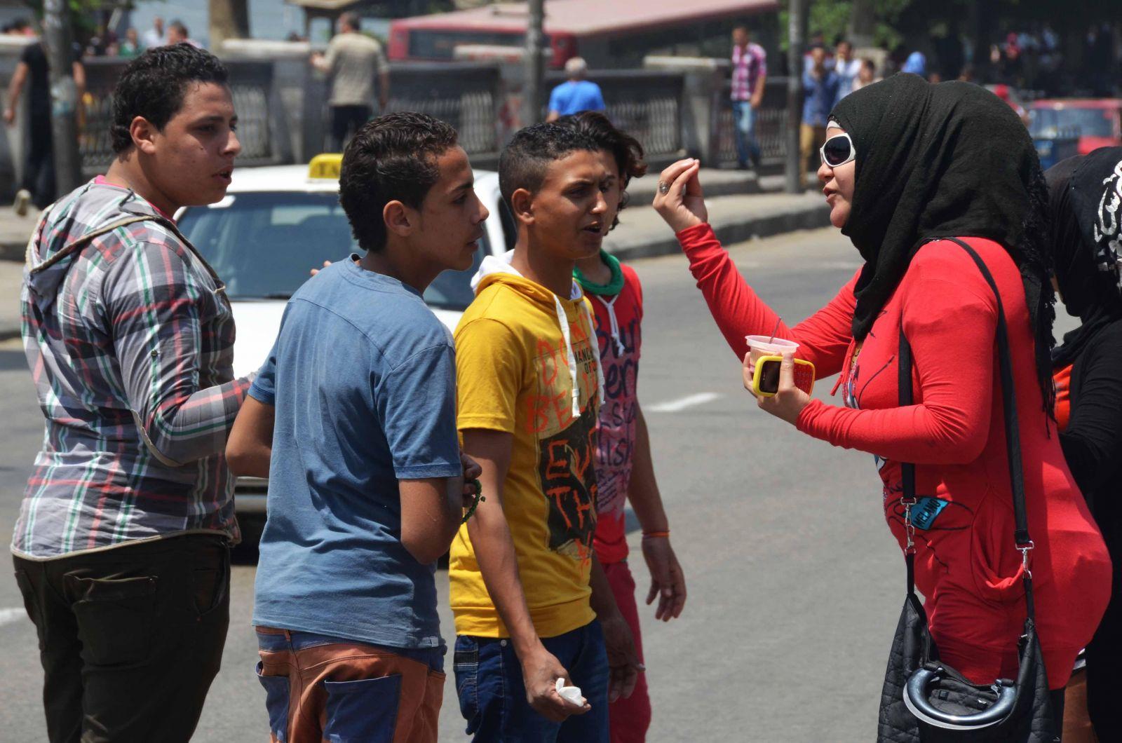 نساء مصر أكثر شجاعة أمام التحرش