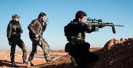 ثوار سوريا يتقدمون  في محيط آخر بلدتين بيد النظام في إدلب