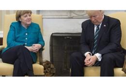 ترامب وميركل