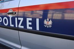 صورة ارشفية تحمل شعار الشرطة النمساوية