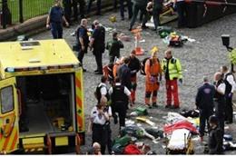 صور من حادث الدهس في لندن, امس الاربعاء, 22 مارس 2017