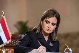 وزيرة الاستثمار سجر نصر