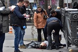 لحظة اغتيال برلماني روسي سابق في كييف