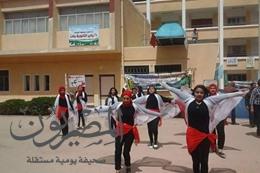 طالبات مدرسة 25 يناير بالإسماعيلية