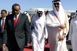 أمير قطر يصل إثيوبيا