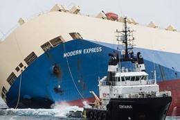 غرق سفينة عسكرية روسية قبالة اسطنبول