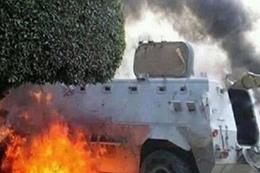 استشهاد جندي في تفجير بالعريش