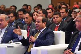 """""""السيسي"""": سيناء حافظت على كرامة المصريين"""