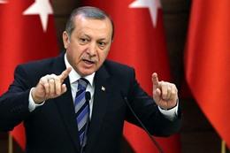 """أردوغان"": لن نسمح بـ""ممر إرهابي"" على حدودنا"