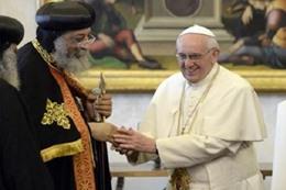 جدل مسيحى حول اتفاق «فرانسيس ـ تواضروس»