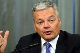 وزير الخارجية البلجيكي ديدييه رايندرز