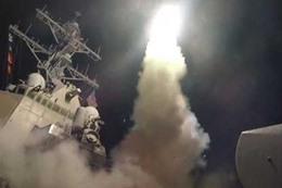 الهجوم الامريكى على سوريا