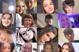 صور اطفال مفقودين فى حادث مانشسترارينا