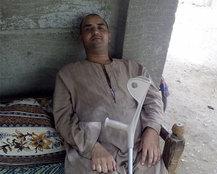 """""""محمد"""" لم يستسلم لإعاقته ويبحث عن عمل شريف"""