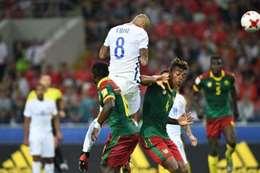 كأس القارات.. تشيلي تهزم الكاميرون بهدفي فيدال وفارجاس