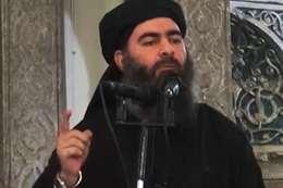 أبو بكر البغدادي زعيم تنظيم الدولةالاسلامية
