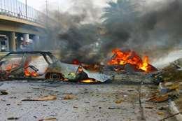 ارتفاع حصيلة هجوم انتحاري بغداد إلى 10 قتلى