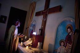 رأيت مسيحيا يصلي!