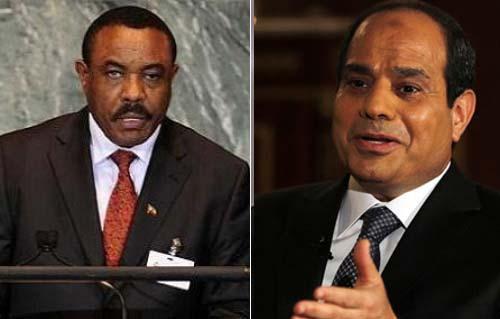 مصر وأثيوبيا يؤكدان على حسن الجوار فى بيان مشترك للبلدين