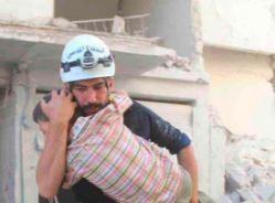 «الخوذ البيضاء» السورية تحصد «نوبل» البديلة