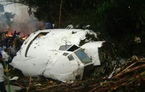تحطم طائرة بكولومبيا