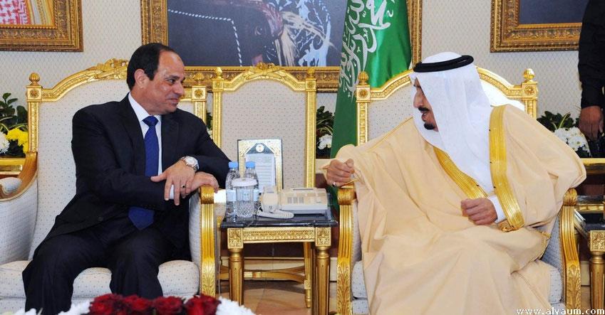 السيسى وسلمان يوقعان إنشاء مجلس تنسيق