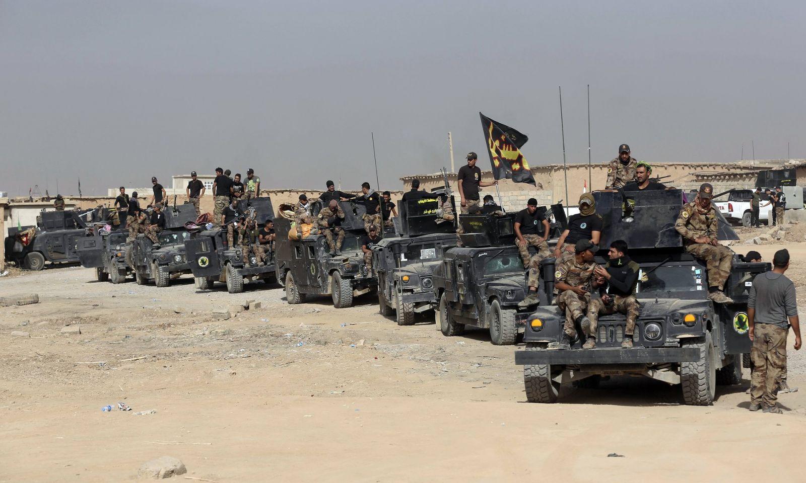 إِسْتَفْتاح عمليات عسكرية شمال غرب الساحل الأيمن فى الموصل