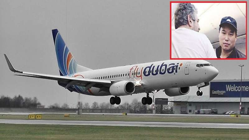 """اللص الطائر سرق أموال ركاب طائرة """"فلاي دبي"""" أثناء نومهم"""