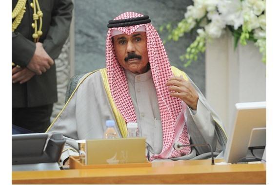 صورة أمير الكويت: القضاء الكويتي عادل ونزيه