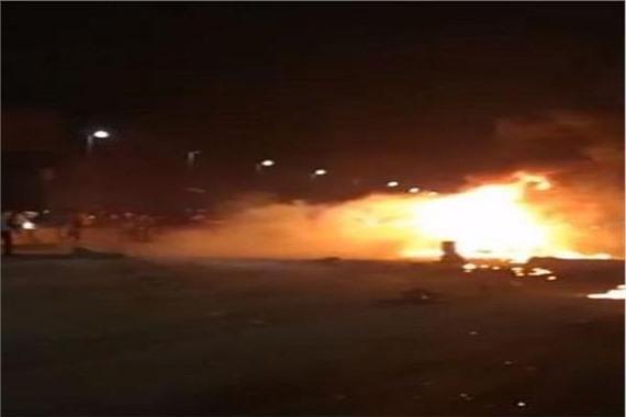 صورة صادم.. وفاة أحد نجوم الفن في انفجار سيارة بمحور 26 يوليو