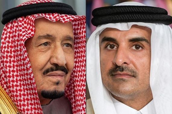 صورة رسالة عاجلة من أمير قطر للملك سلمان