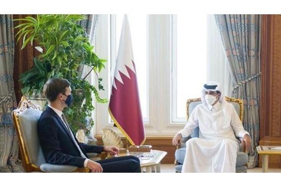 صورة مستشار بن زايد يكشف مفاجأة مدوية عن سر زيارة كوشنر لـ قطر: ليست للمصالحة بل لشيء آخر