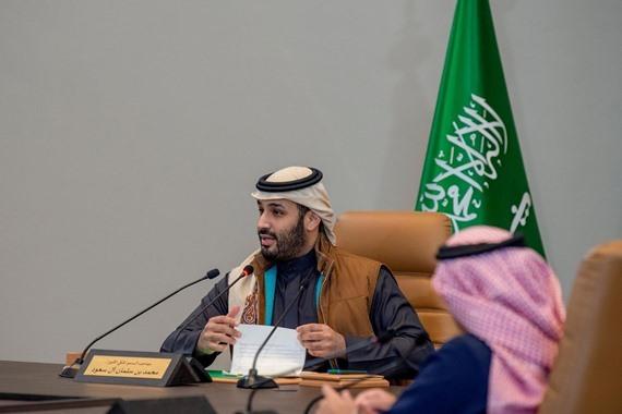 صورة محمد بن سلمان يدشن مشروعًا يستجلب مليوني زائر للسعودية