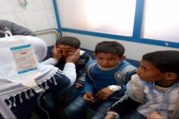 التسمم الجماعي لطلبة مدارس محافظة سوهاج