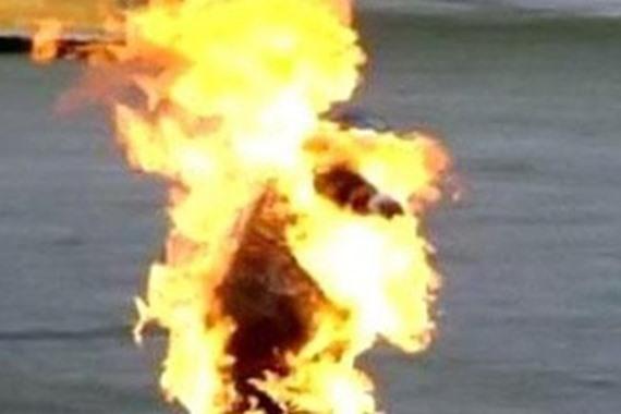 حبس سائق أشعل النيران في زوجته بالبحيرة