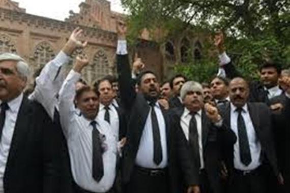 اضراب محامي كفر الشيخ