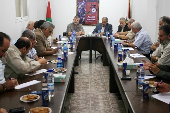 اجتماع الفصائل الفلسطينية
