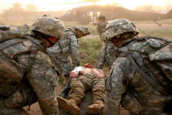 إصابة جنود أمريكيين