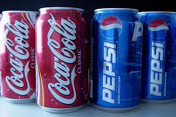 بيبسي وكوكاكولا