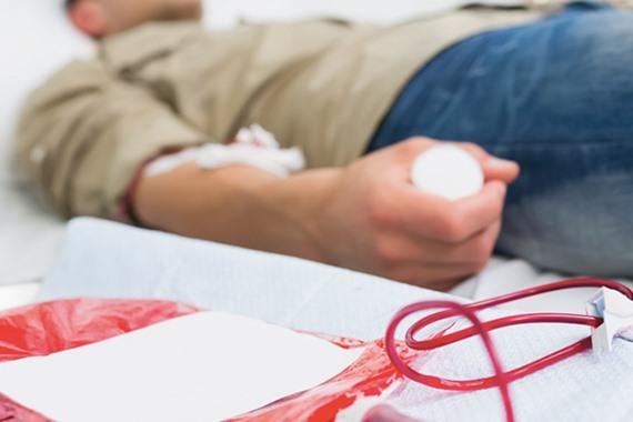 التبرع بالدم بالفيوم