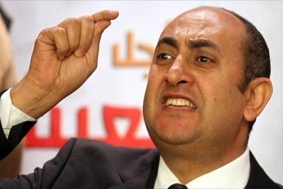 المحامى الحقوقى خالد على