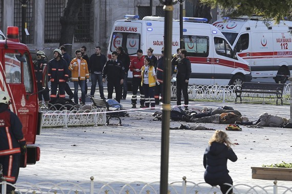 مقتل إرهابي في تفجير بتركيا